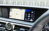 Lexus GS infotainment system
