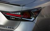 Lexus GS rear lights
