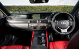 Lexus GS F dashboard