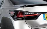 Lexus GS F rear lights