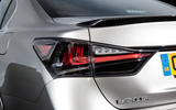 Lexus GS F rear lights