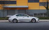 Lexus GS F side profile