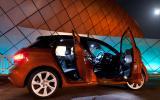 Audi A1 Sportback doors open