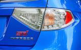 Subaru Impreza WRX STI rear lights
