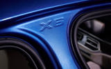 BMW X6 M50i 2019 road test review - b pillar