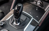 Alfa Romeo Stelvio Quadrifoglio 2019 road test review - gearstick