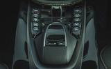 Aston Martin DBX 2020 road test review - centre console