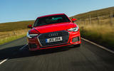 Audi A6 2019 road test review - on the road front
