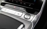 Audi A6 Avant 2018 road test review - start button