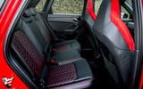 Audi RS Q3 2020 road test review - rear seats
