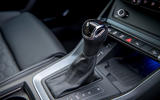 Audi RS Q3 Sportback 2020 road test review - gearstick