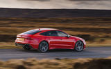 Audi RS7 Sportback 2020 road test review - on the road side