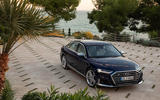 Audi S8 2020 road test review - static front