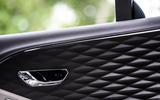 Bentley Flying Spur 2020 road test review - door cards
