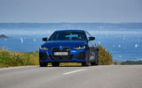 21 BMW i4 M50 2021 first drive review on road nose