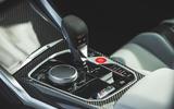 21 BMW M4 Competition 2021 RT centre console