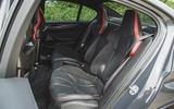 21 BMW M5 CS 2021 RT rear seats