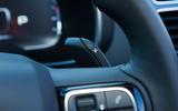 Citroen C5 Aircross 2019 road test review - paddle shifters
