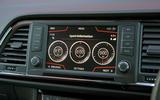 Cupra Ateca 2019 road test review - sports dials