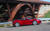 Ferrari Portofino review cornering side