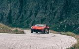 Ferrari Roma 2020 road test review - drifting