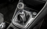 Ford Fiesta Active 2018 road test review gearstick