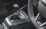 Ford Focus ST 2019 road test - gearstick