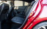 Ford Focus ST-line X 2019 road test review - rear seats