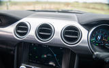Ford Mustang Bullitt 2018 road test review - air vents