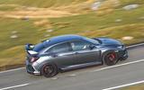 Honda Civic Type R 2019 road test review - hero side