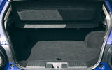 Honda e 2020 road test review - boot