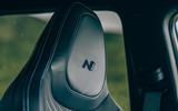 21 Hyundai i20 N 2021 RT seat stitching