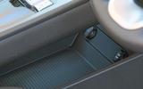 Hyundai Kona Electric 2018 road test review - console storage
