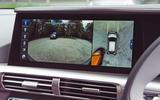 Hyundai Nexo 2019 road test review - reversing camera