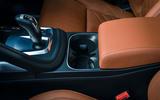 Jaguar E-Pace review cupholders