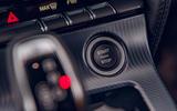 Jaguar F-Type 2020 road test review - start button
