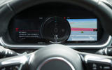 Jaguar I-Pace 2018 road test review instrument cluster