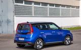 Kia Soul EV 2019 European first drive - static rear