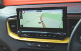 Kia Xceed 2019 road test review - navigation