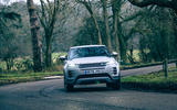 21 Land Rover Range Rover Evoque 2021 road test review cornering