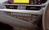 Lexus ES 2019 road test review - climate controls