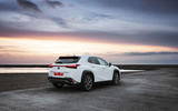 Lexus UX 2019 road test review - static rear