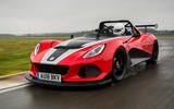 Lotus 3-Eleven 430 review cornering front