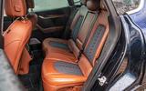 Maserati Levante S GranLusso 2019 road test review - rear seats