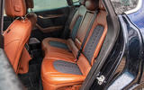Maserati Levante S GranLusso 2019 road test review - rear seats