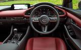 Mazda 3 Skyactiv-X 2019 road test review - dashboard