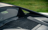21 McLaren 620R 2021 road test review engine cover