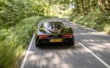 McLaren Speedtail 2020 UK first drive review - tracking rear