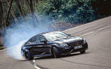 Mercedes-AMG C63 Coupé 2019 road test review - drift front