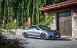 Mercedes-AMG CLA 45 S 2019 road test review - static front